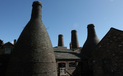 Bottle Ovens in Stoke-on-Trent