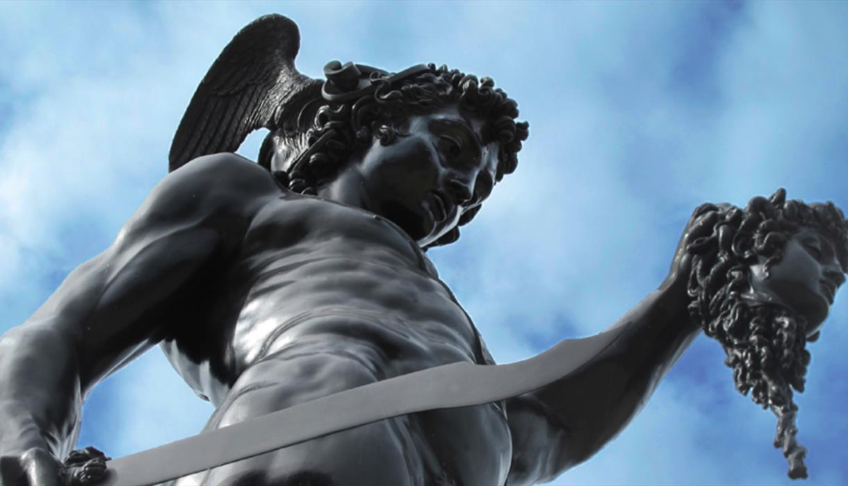 Perseus With The Head Of Medusa Visit Stoke