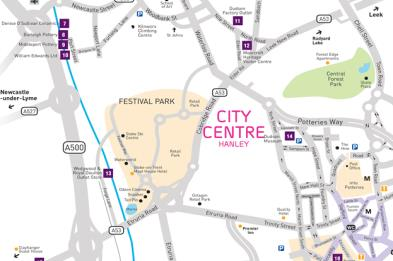 Stoke-on-Trent Visitor Maps, Brochures and Guides