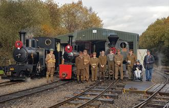 Military Trains Weekend