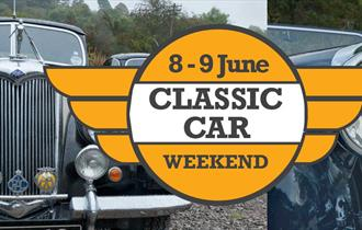 Classic Car Day At the Churnet Valley Railway