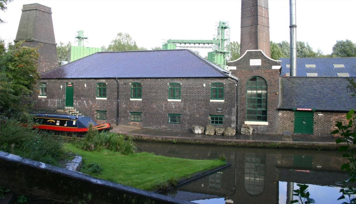 Shirley's 1857 Bone and Flint Mill at the Etruria industrial Museum