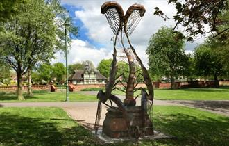 The Mayfly Throne, Burslem Park