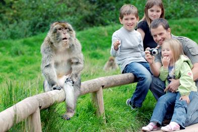 RSPB Nature Event at the Monkey Forest