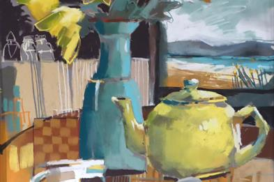 Drawn to Colour - An exhibition of paintings at Trent Art Gallery with the Pastel Society
