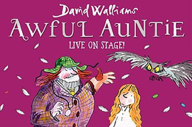 Awful Auntie live on stage
