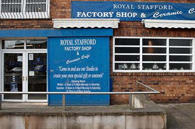 Royal Stafford shop exterior