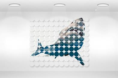 Wall Art - The Great White Shark