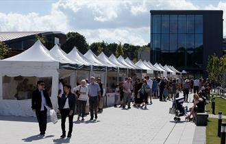 More than 50 outdoor and indoor stalls offering fine food and hand-made crafts at World of Wedgwood monthly Artisan Market