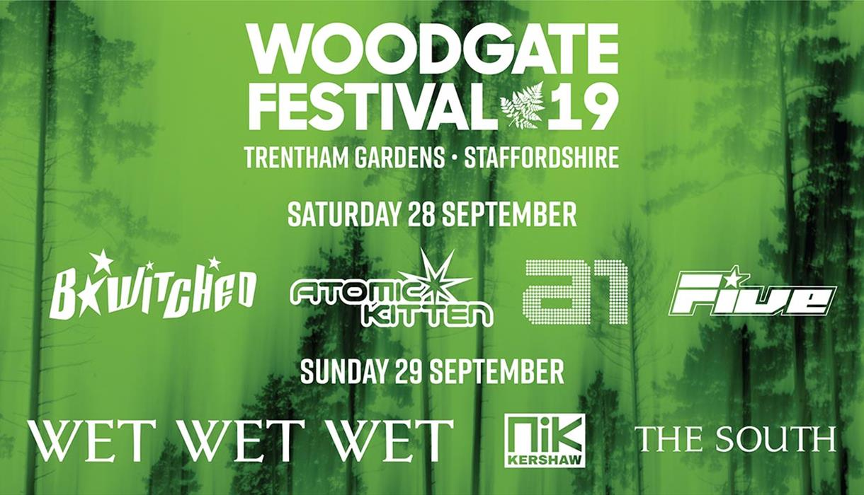 Woodgate Festival at the Trentham Estate