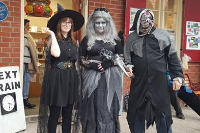 Halloween Spooky Specials at Apedale Valley Light Railway