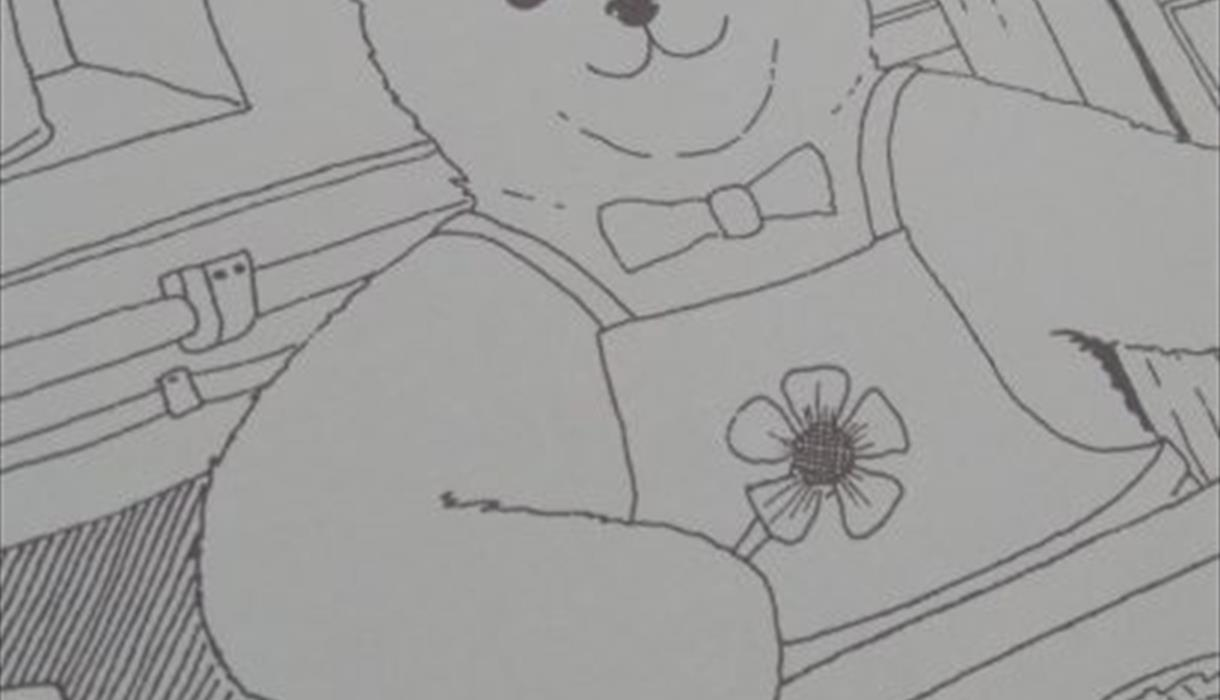 Colour in the Gladstone Teddy Flowermaker (Home Activity)
