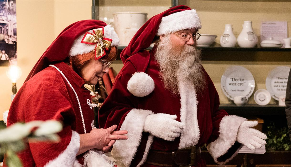 The Real Father Christmas at Middleport Pottery