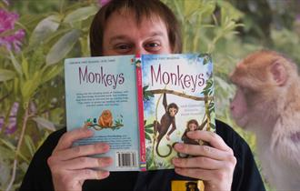 Summer Reading Event at Trentham Monkey Forest