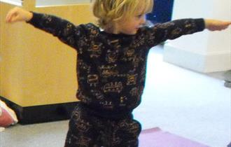 Mindful Museum- a monthly yoga session for preschool children. **Currently Closed**